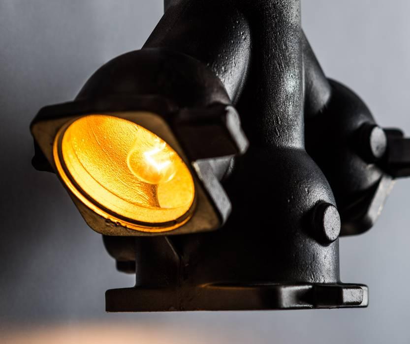 de style  par Firelamps, Industriel Aluminium/Zinc