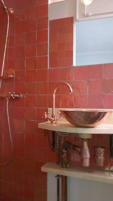 Salle de bain marocaine paris 20e: de style par sara camus ...