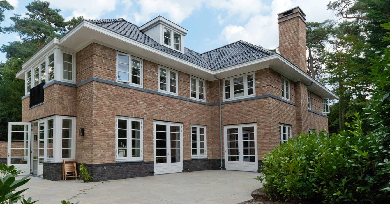linker zijgevel:  Huizen door Snellen Architectenbureau