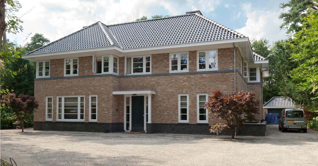 voorgevel Klassieke huizen van Snellen Architectenbureau Klassiek