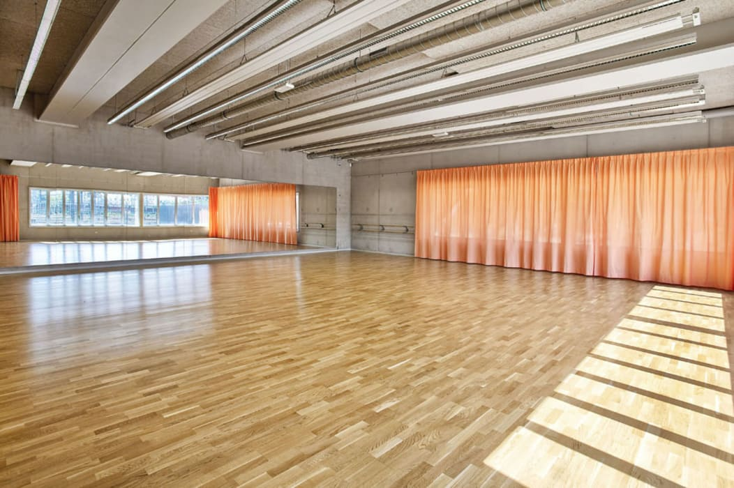 Dance Room Modern schools by Brisac Gonzalez Architects Modern