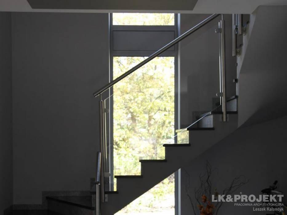 LK&684: styl , w kategorii Korytarz, przedpokój zaprojektowany przez LK & Projekt Sp. z o.o.