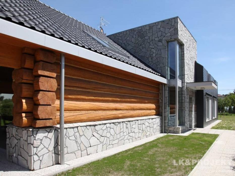 LK&684: styl , w kategorii Domy zaprojektowany przez LK & Projekt Sp. z o.o.,