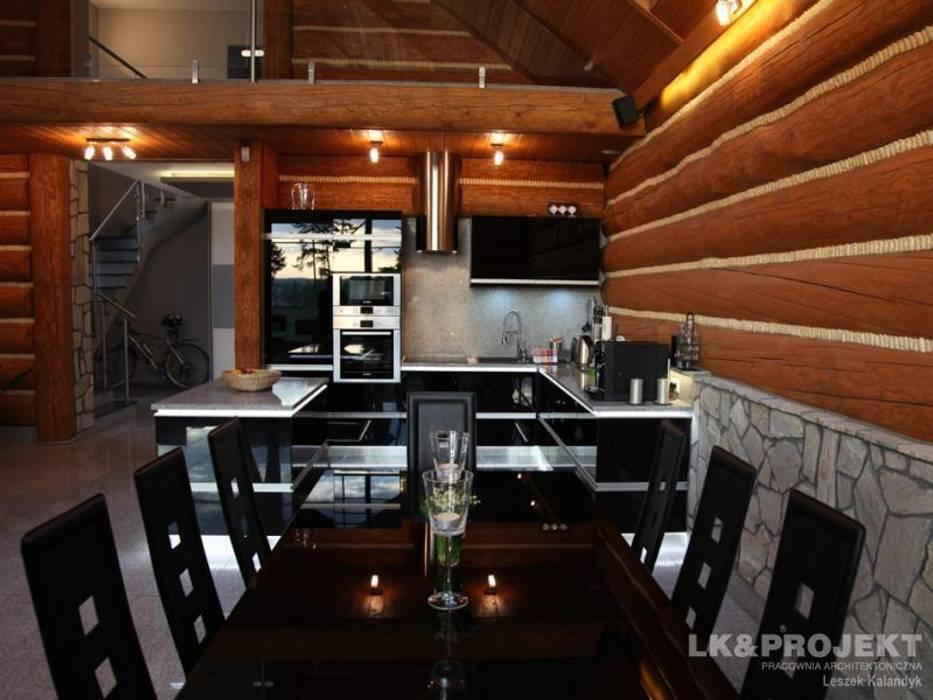 LK&684: styl , w kategorii Kuchnia zaprojektowany przez LK & Projekt Sp. z o.o.