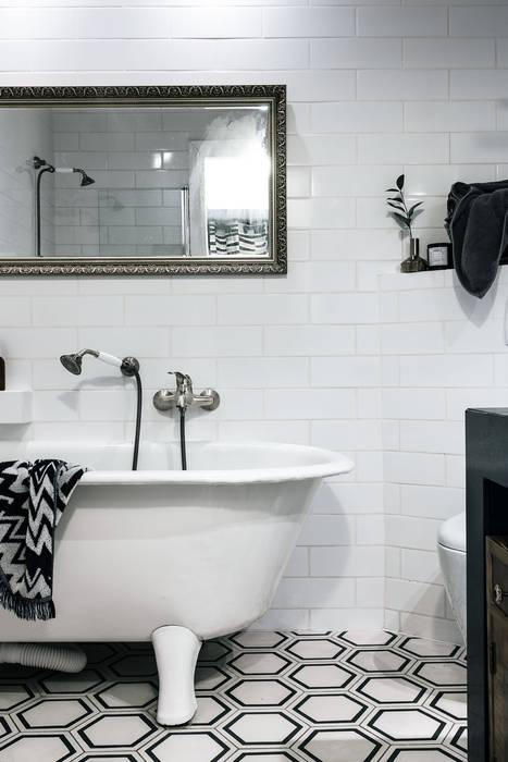 Odwzorowanie Eclectic style bathrooms