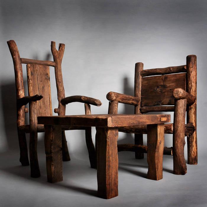 Tuldok Living roomSofas & armchairs Wood Brown