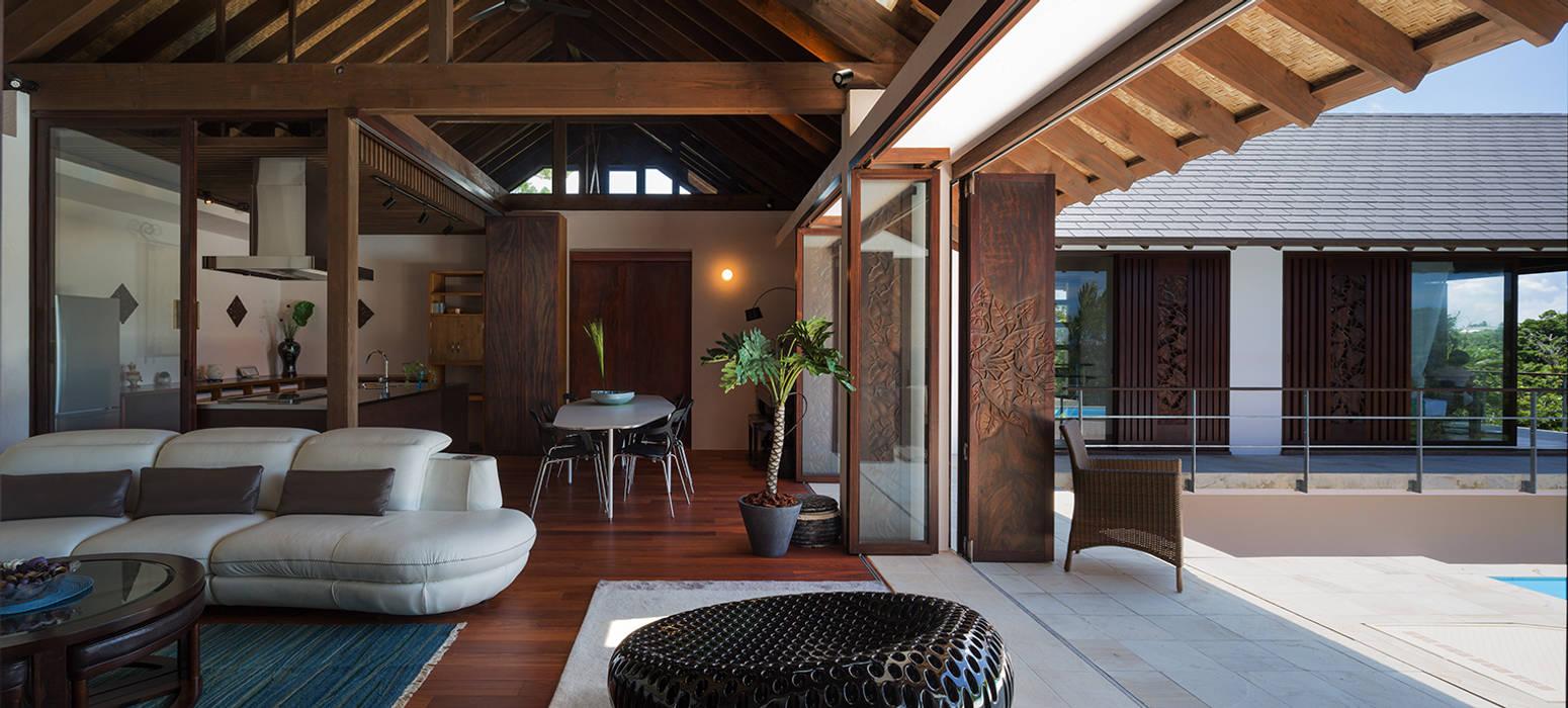 ห้องทานข้าว โดย 岡部義孝建築設計事務所, เอเชียน
