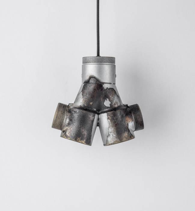 ST 01 od Firelamps Industrialny Aluminium/Cynk
