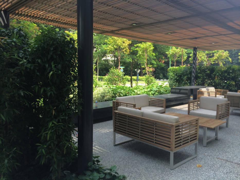 Taman Tropis Oleh Tinderbox Landscape Studio Tropis