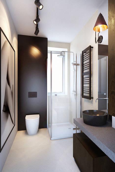 Scandinavian style bathroom by razoo-architekci Scandinavian