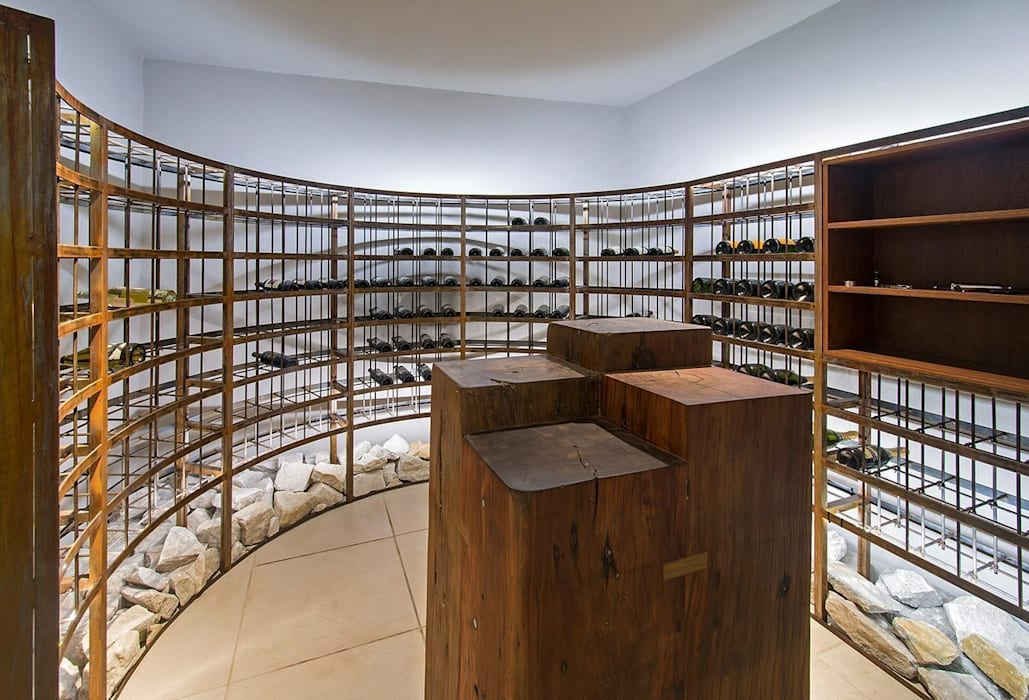 Cariló Bodegas de vino modernas: Ideas, imágenes y decoración de Estudio Sespede Arquitectos Moderno
