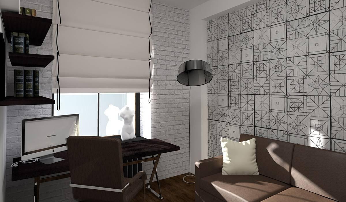 Study/office by Дизайн-студия HOLZLAB, Industrial