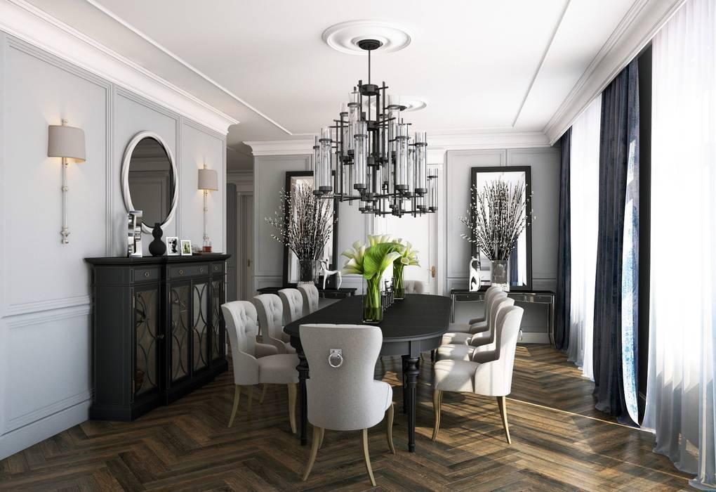 Salas de jantar clássicas por seven2seven studio Clássico