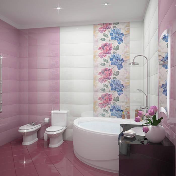 Salle de bains de style  par homify, Classique