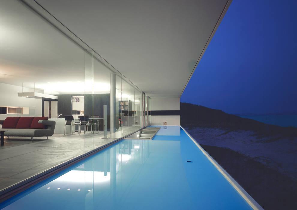 Modern Terrace by アトリエ環 建築設計事務所 Modern