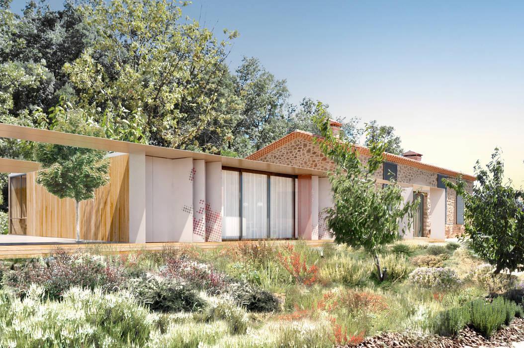 Casas campestres por Estudio de Arquitectura Teresa Sapey Campestre