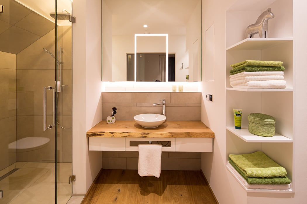Casas de banho  por schulz.rooms, Moderno