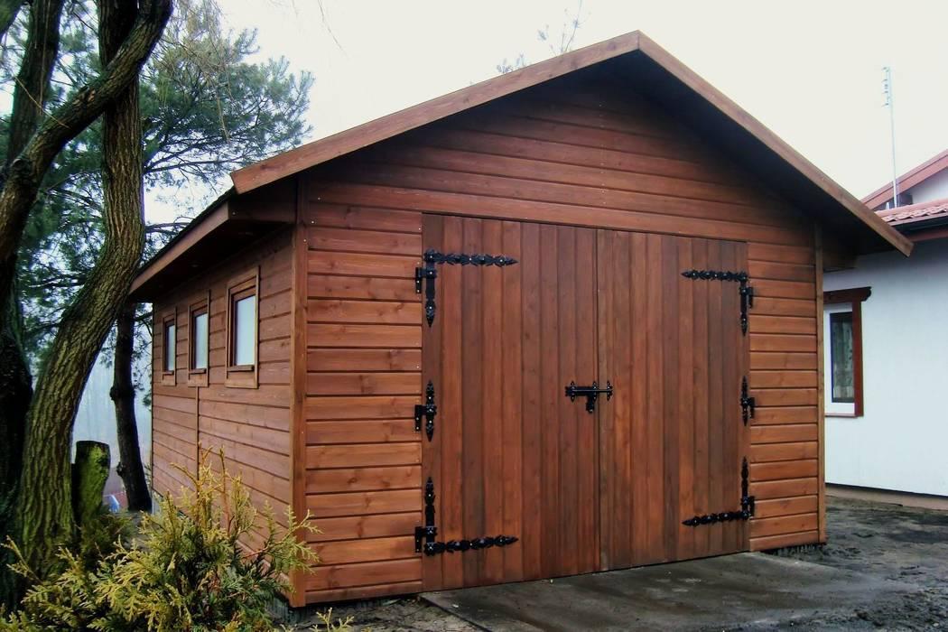 Garaż NORDYCKI: styl , w kategorii Garaż zaprojektowany przez Ogrodolandia