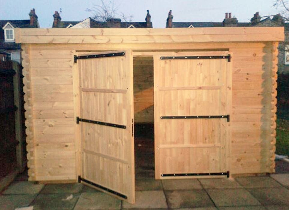 Wooden garages Classic style garage/shed by Quick garden LTD Classic
