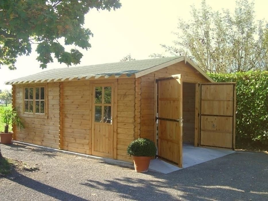 Wooden garages by Quick garden LTD Classic