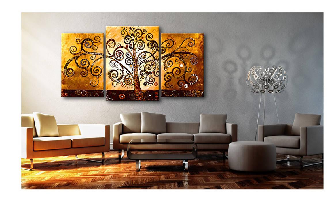 Bimago wandbild: wohnzimmer von bimago   homify