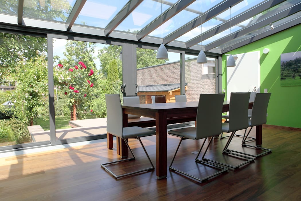 Conservatory by homify, Modern