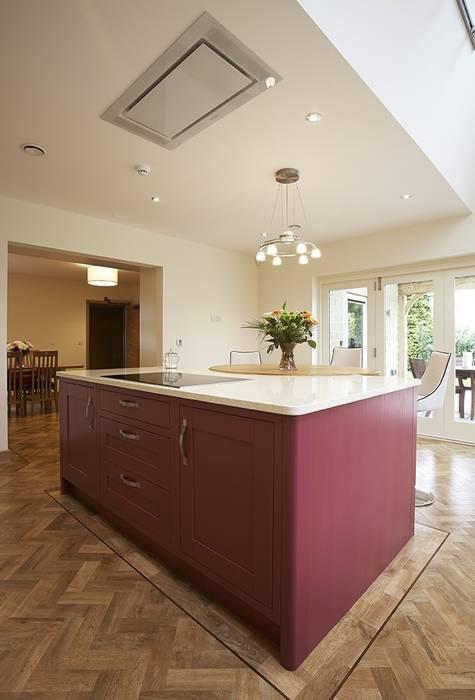 Modern Kitchen in Wakefield at Sandal Modern Kitchen by Twenty 5 Design Modern