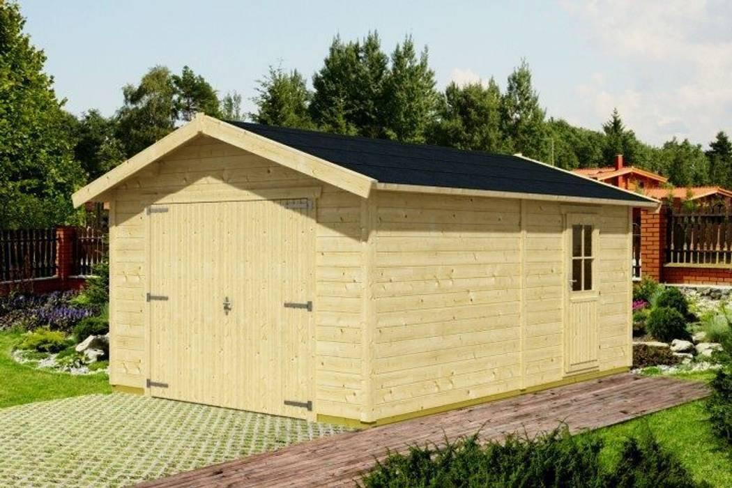 Garaż VERSUS: styl , w kategorii Garaż zaprojektowany przez Ogrodolandia