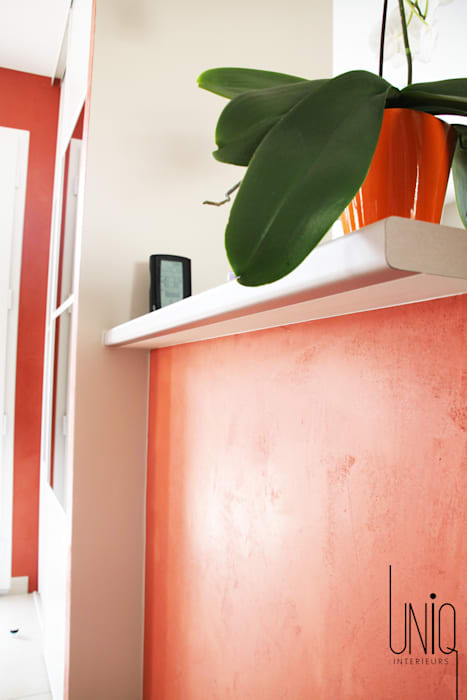 Entrée après travaux Couloir, entrée, escaliers classiques par Uniq intérieurs Classique