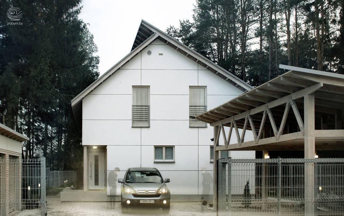 Casas de estilo  por ZROBYM architects, Minimalista