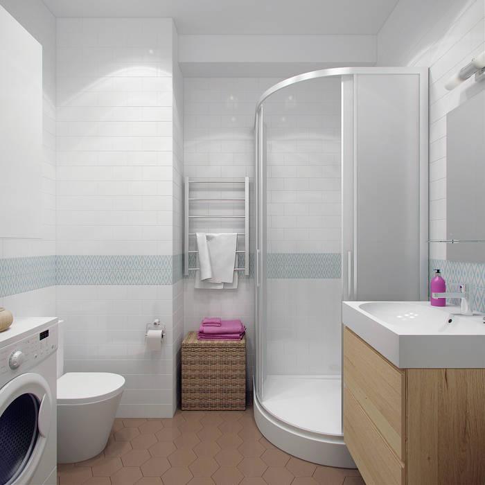 Scandinavian style bathroom by Ekaterina Donde Design Scandinavian