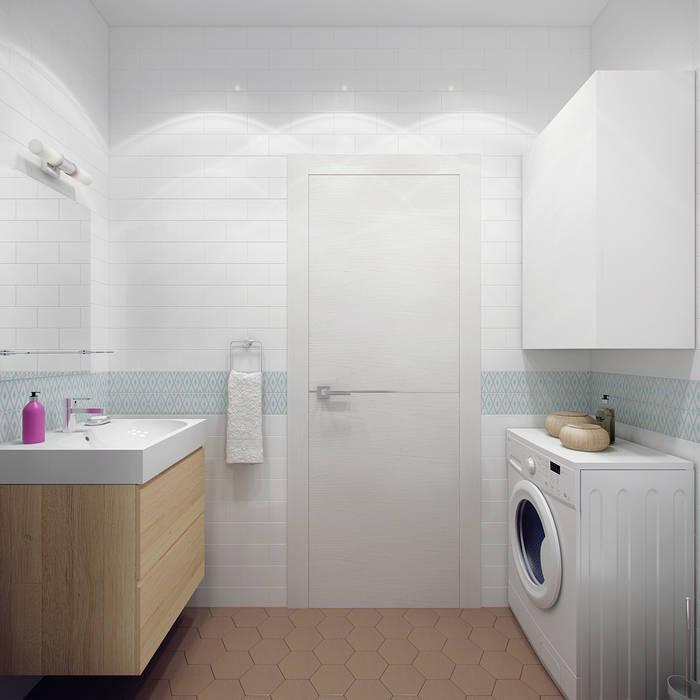 Badkamer door Ekaterina Donde Design