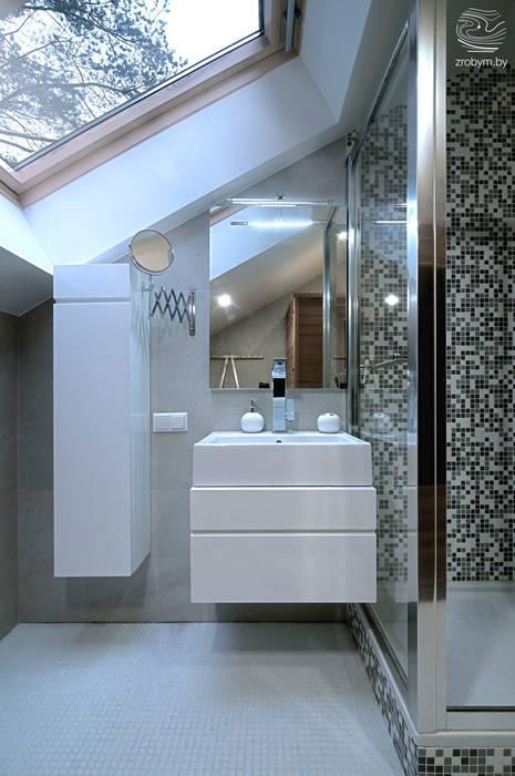 Baños de estilo  por ZROBYM architects, Minimalista