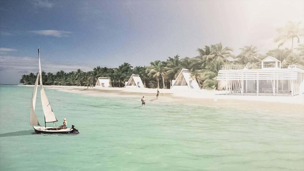 KPR Kayangel Palauan Resort: Hotel in stile  di SalghettiDesign