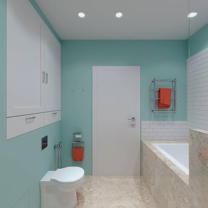 Ванные комнаты в . Автор – Kristina Petraitis Design House,