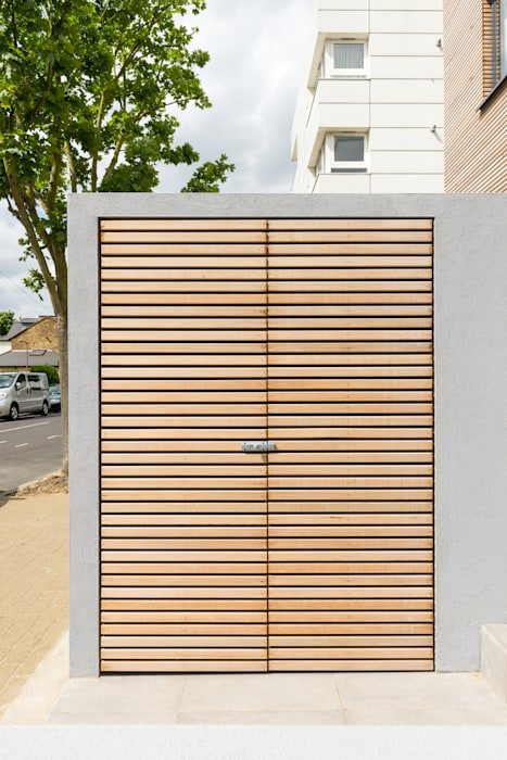 Utility cupboard Modern Garage and Shed by The Chase Architecture Modern