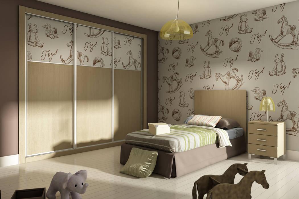 Dormitorio infantil de AstiDkora Moderno