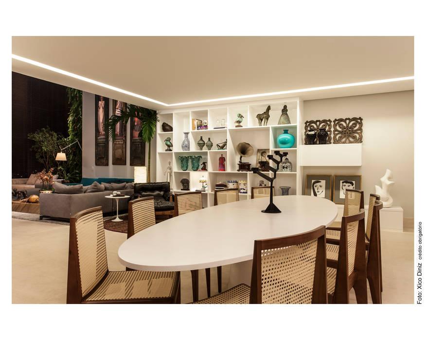 Hall de Entrada / Sala de Jantar Salas de jantar ecléticas por Arquitetura 3 Eclético