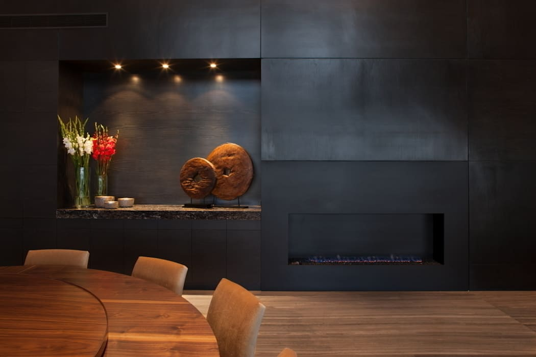 Paredes y pisos de estilo moderno de GLR Arquitectos Moderno