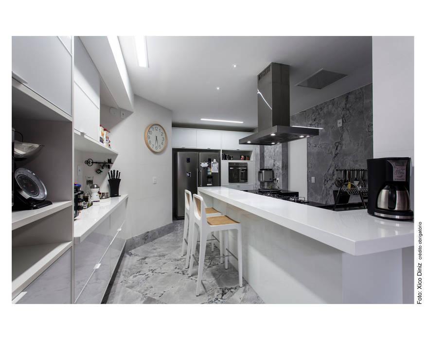 Copa / Cozinha: Cozinhas  por Arquitetura 3