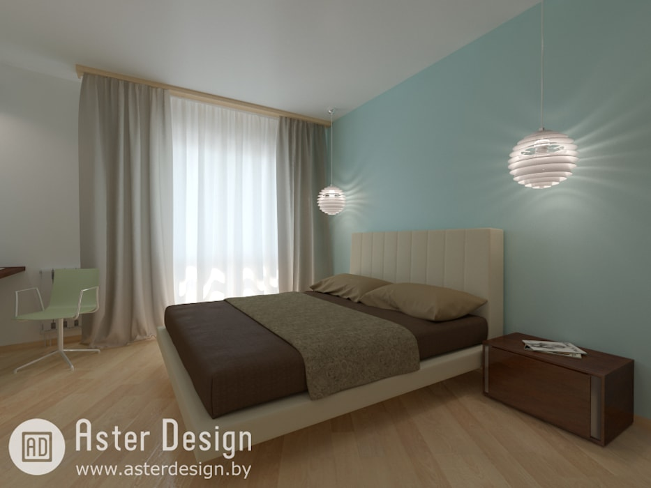 Eclectic style bedroom by ASTER DECO Eclectic