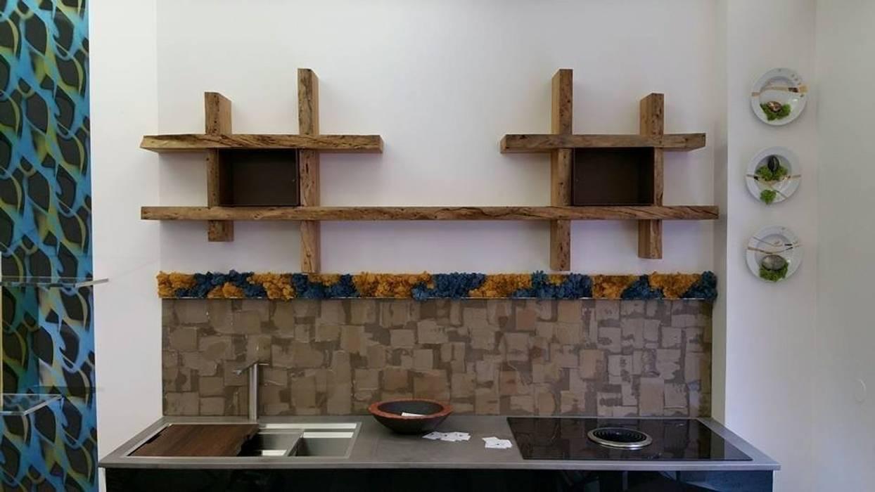 Mensole In Legno Massello Per Cucina Di Aguzzoli Arredamenti