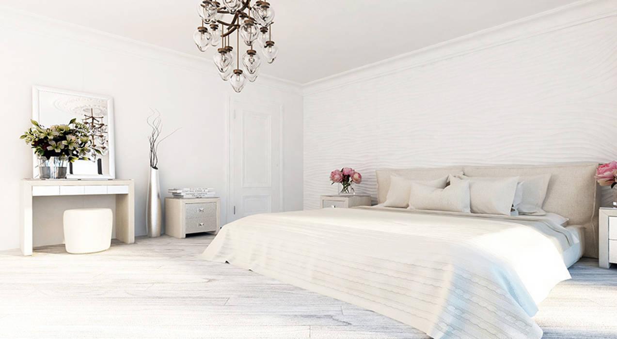 클래식스타일 침실 by Space - студия дизайна интерьера премиум класса 클래식
