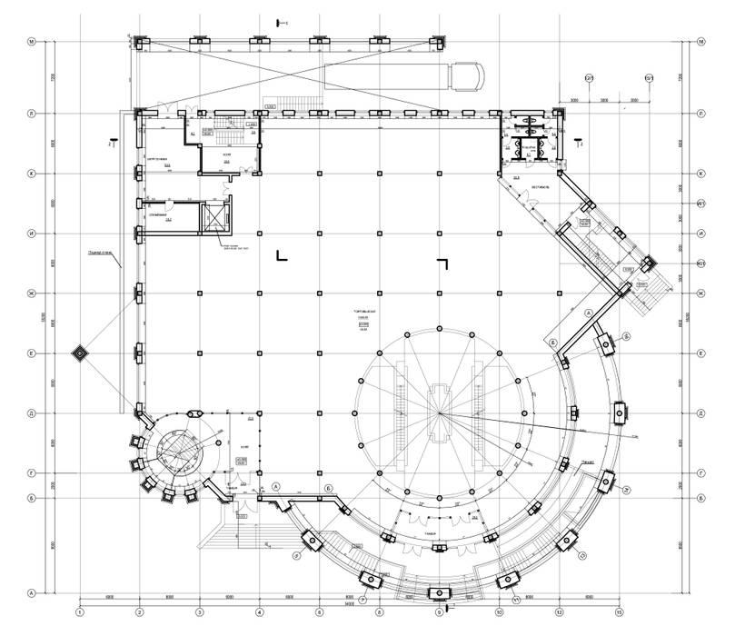 Торгово-развлекательный центр:  в . Автор – Studio Kamil Tsuntaev, Классический