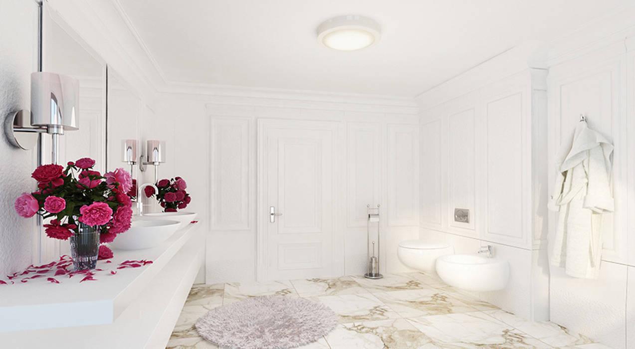 Baños de estilo clásico de Space - студия дизайна интерьера премиум класса Clásico