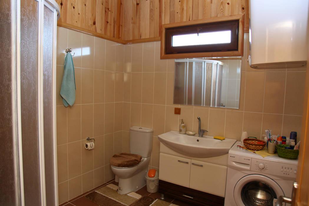 AHSB - AHŞAP EV MODEL B Kırsal Banyo Kuloğlu Orman Ürünleri Kırsal/Country