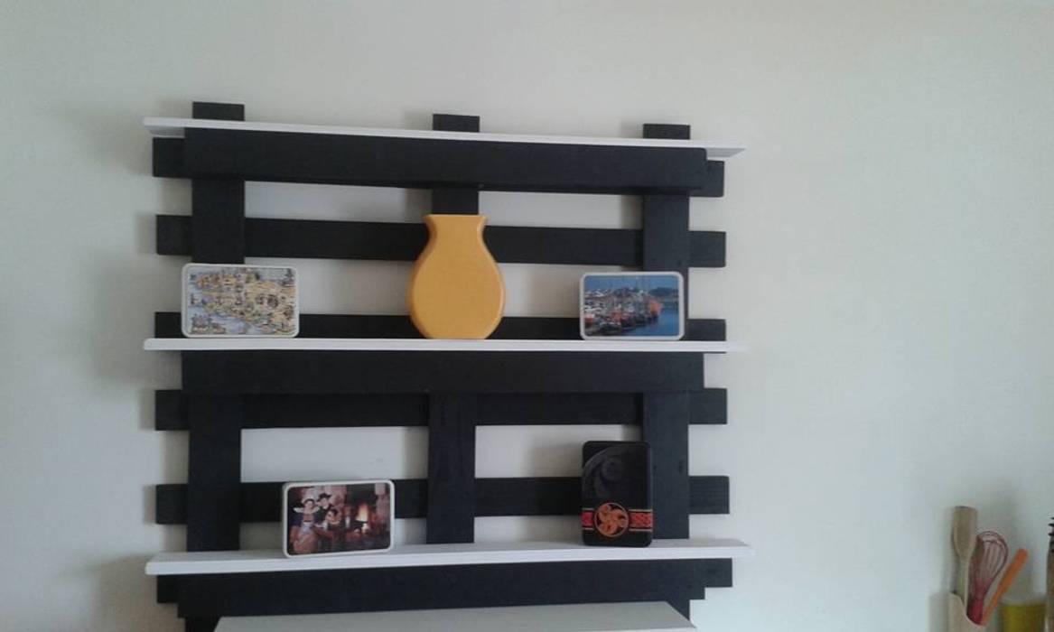 Étagère en palette personnalisable : couloir, entrée, escaliers de