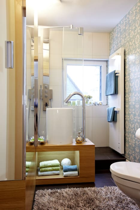 Klein aber fein: ausgefallene badezimmer von stammer ...