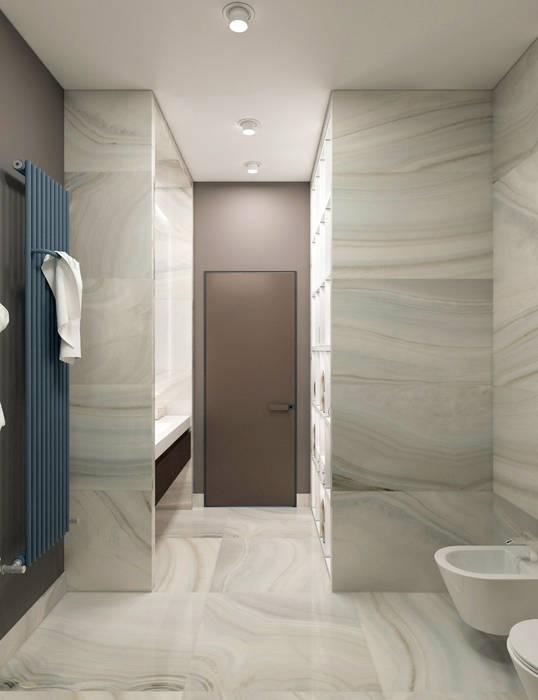 Летняя квартира у Черного моря: Ванные комнаты в . Автор – Котова Ольга