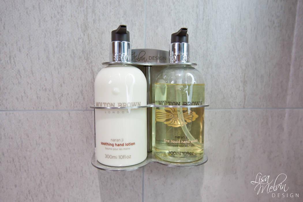浴室 by Lisa Melvin Design ,